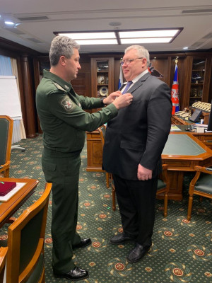 М.В. Слипенчук награжден Медалью Ордена «За заслуги перед Отечеством» I степени