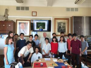 Студенты из Японии на геофаке